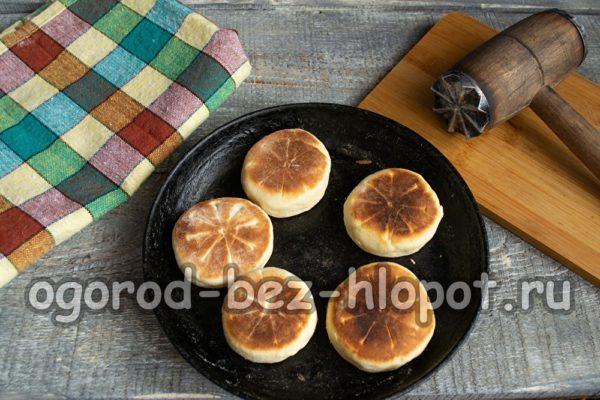 обжарить печенье на сковороде