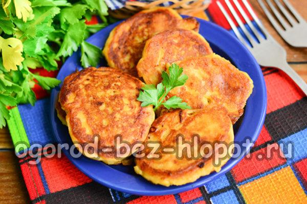 картофельные зразы готовы