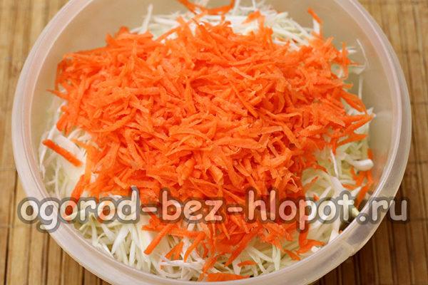 добавить натертую морковь