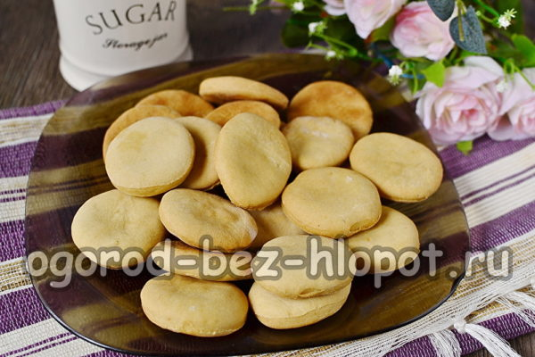 печенье на огуречном рассоле готово
