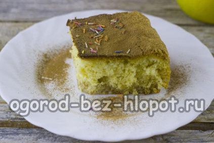 самый простой в мире яблочный пирог