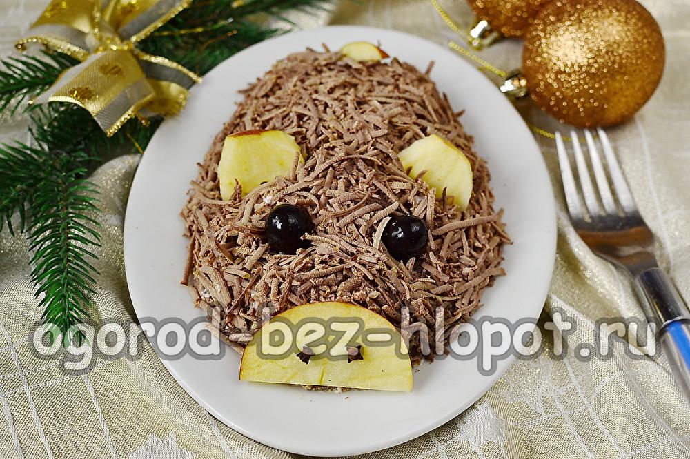 салат Кабан с печенью