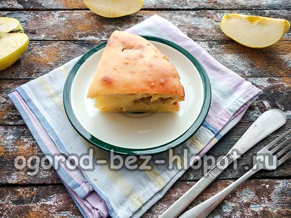 яблочный пирог, который тает во рту