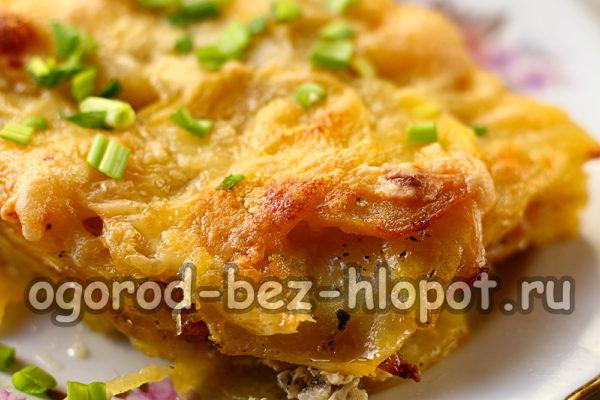 аппетитный картофель Дофине