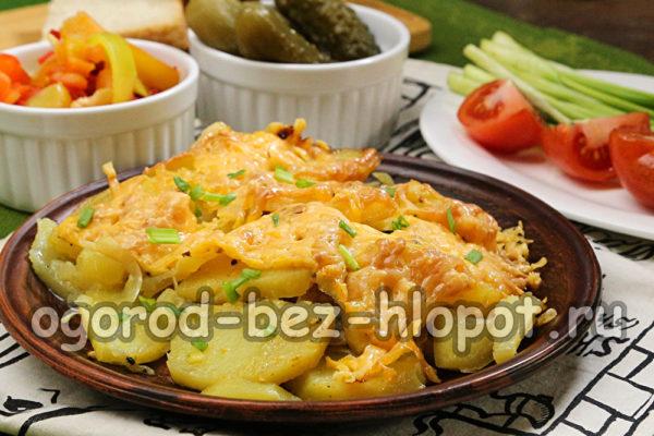 запеченный картофель готов