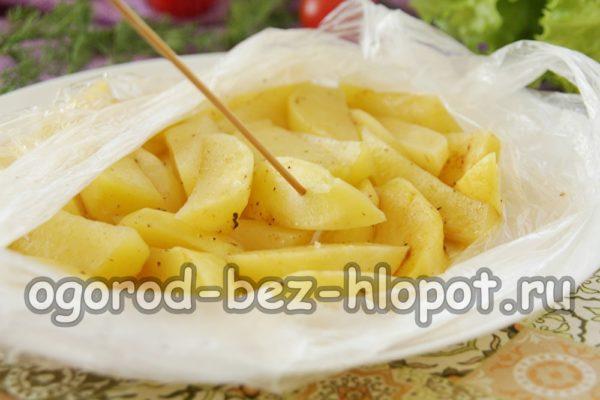 проверить готовность картофеля