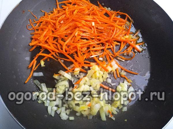 лук и морковь пассеровать