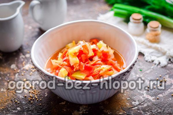 салат из кабачков готов