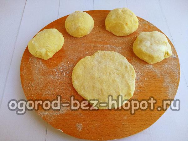 заготовки из картофельного теста