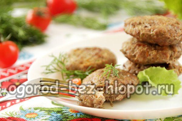 диетические котлеты из говядины