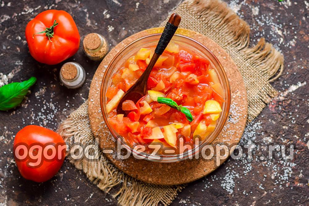 варенье из помидоров красных