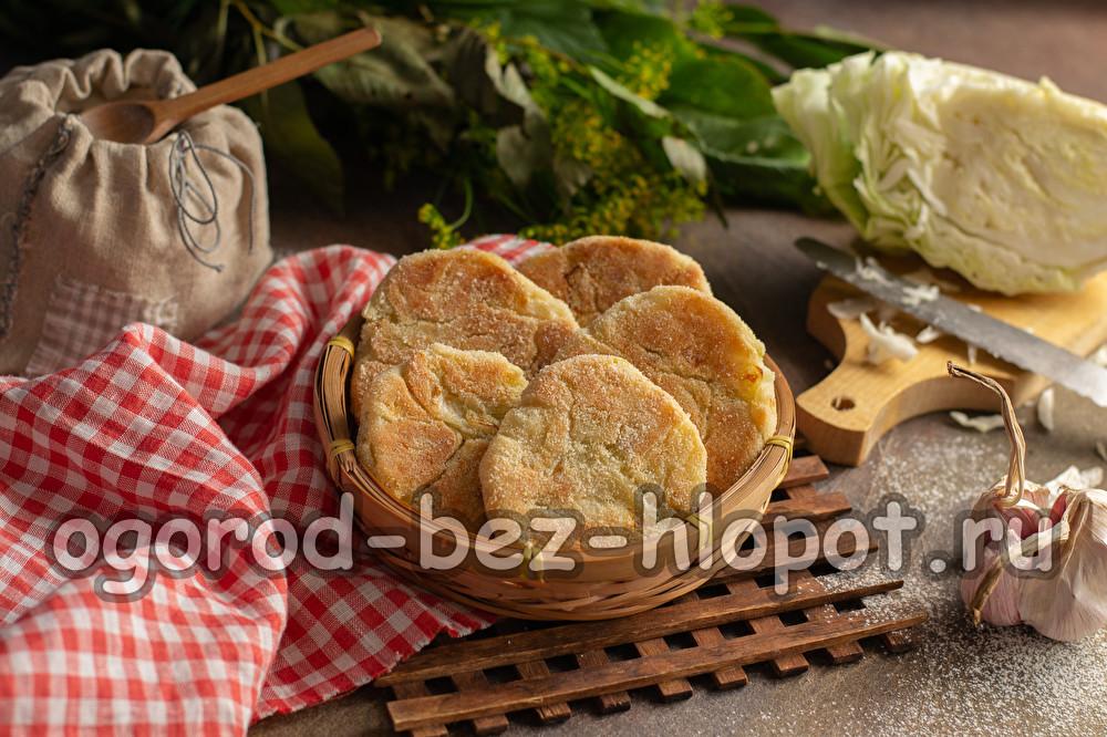капустные булочки рецепт