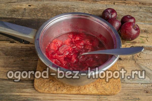 распарить ягоды