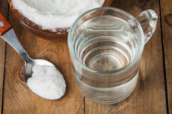 соль в воде