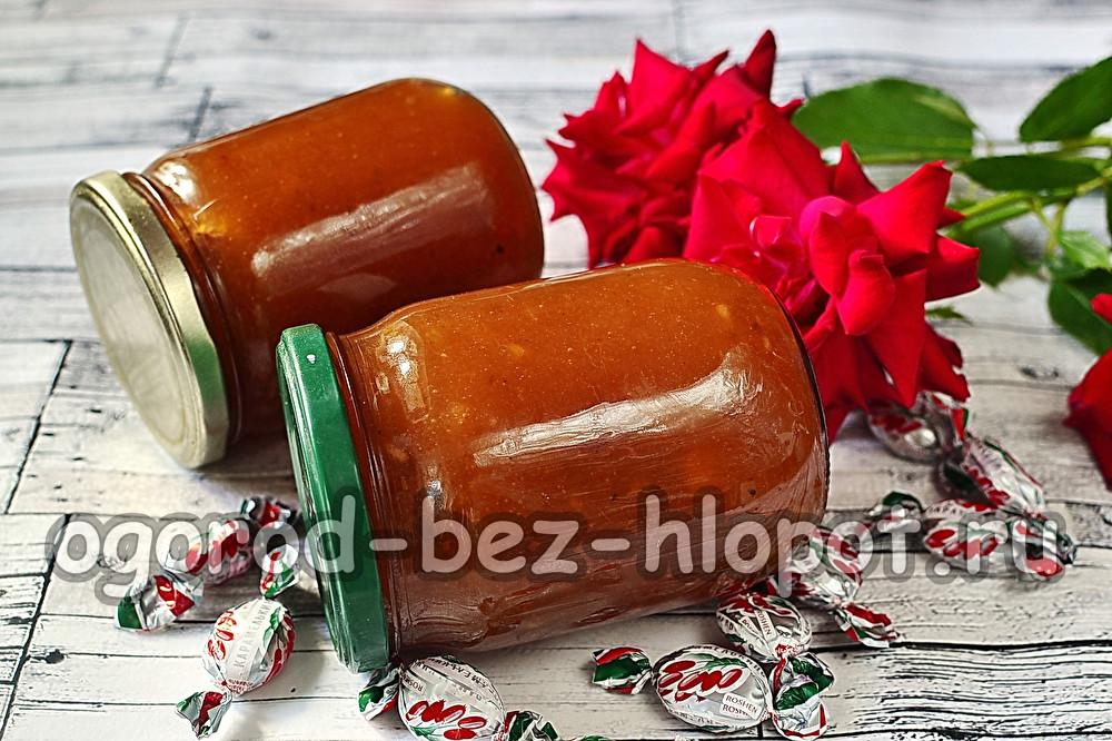 яблочное варенье с конфетами барбарис