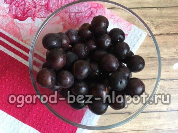 ягоды терносливы