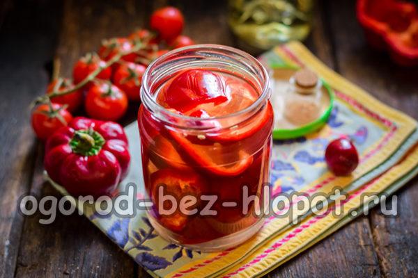 маринованный острый перец с медом