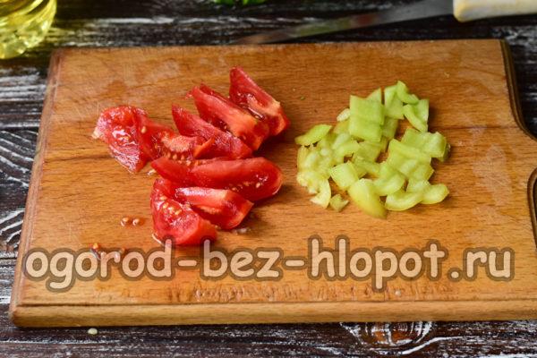 помидор и перец