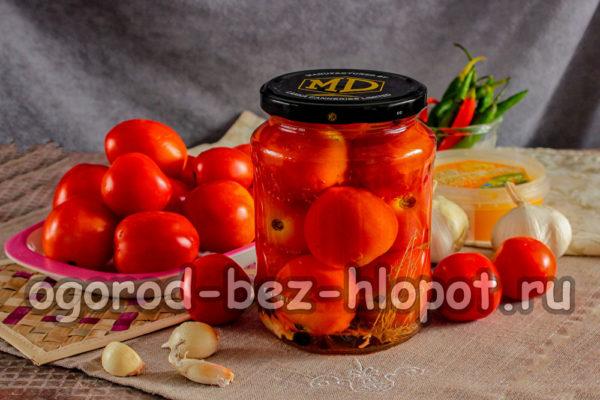 помидоры с медом пальчики оближешь