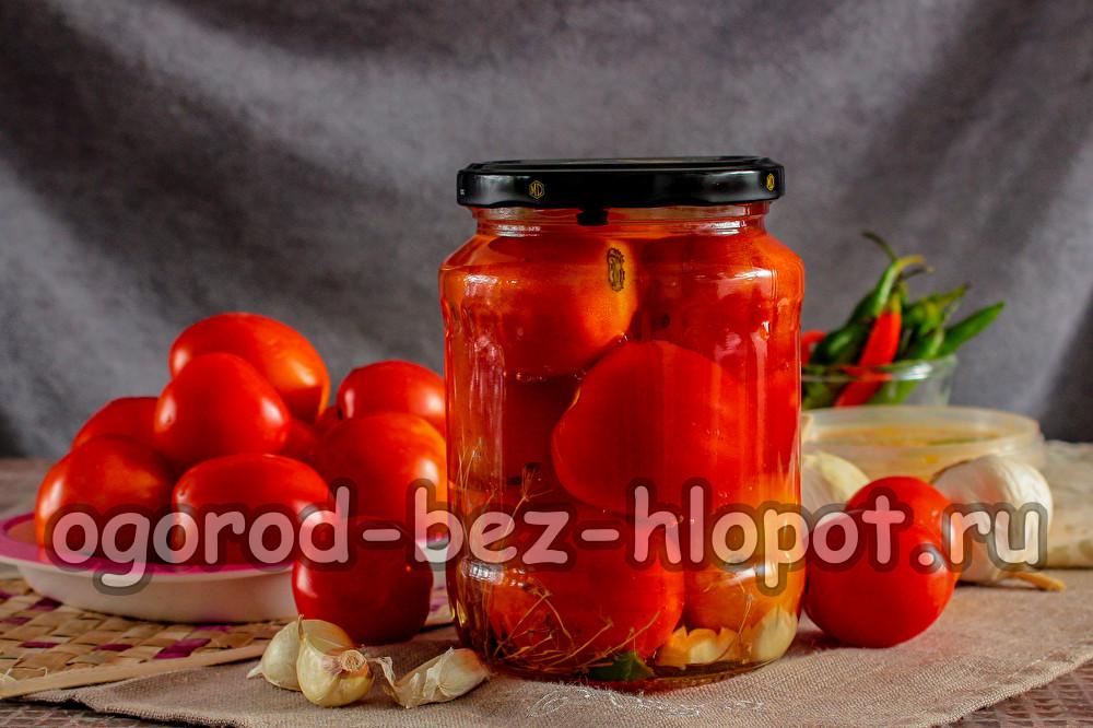 помидоры с медом рецепт на зиму