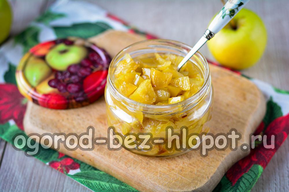 начинка для пирогов из яблок