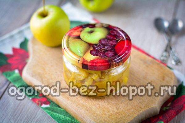 начинка из яблок без стерилизации