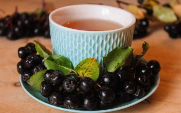 Черноплодная рябина ягода номер 1 для сосудов и сердца