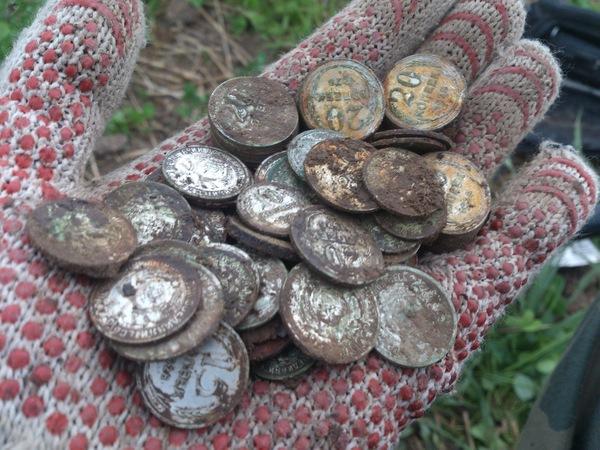 для чего на участке закапывают железные монеты