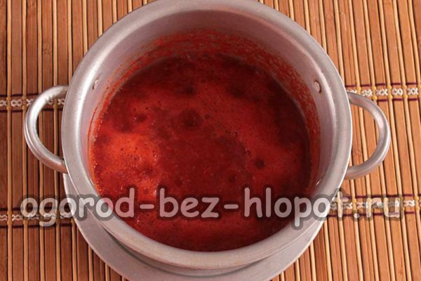проварить томат