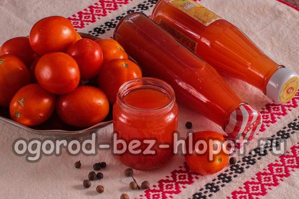 кетчуп с крахмалом на зиму