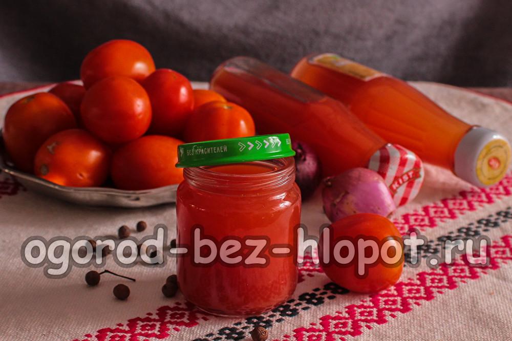 кетчуп с крахмалом с домашних условиях